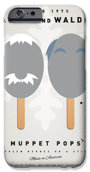 My MUPPET ICE POP - Statler and Waldorf iPhone Case by Chungkong Art