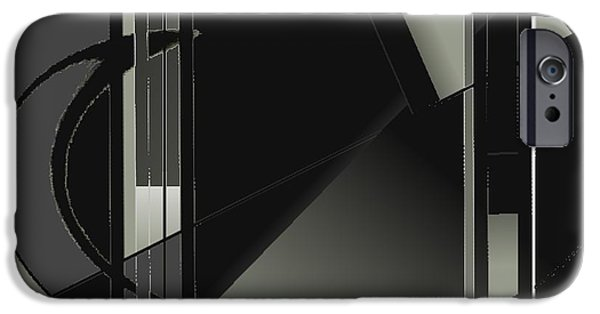 Asymmetrical iPhone Cases - My Neighbors Friends And Family Care About Me iPhone Case by Contemporary Luxury Fine Art