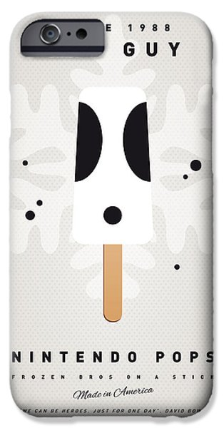 Donkey Digital iPhone Cases - My NINTENDO ICE POP - Shy Guy iPhone Case by Chungkong Art