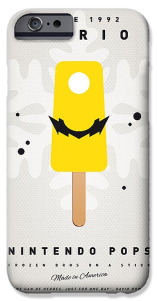 My NINTENDO ICE POP - Wario iPhone Case by Chungkong Art