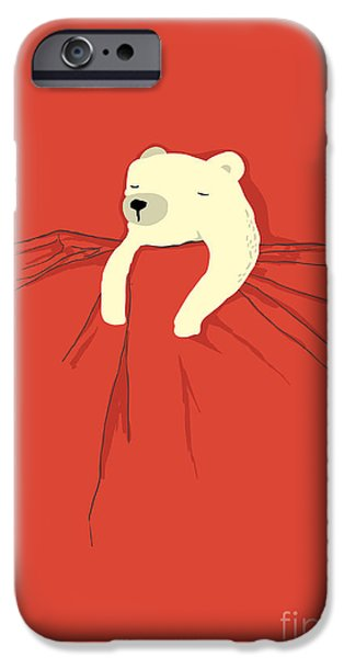 Cartoon iPhone Cases - My pet iPhone Case by Budi Satria Kwan