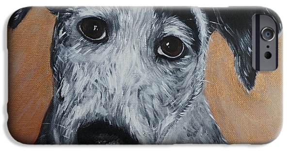 Mixed Labrador Retriever iPhone Cases - My Puppy iPhone Case by Kirsten Sneath