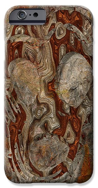 Virtual Digital iPhone Cases - My Scream iPhone Case by Jack Zulli