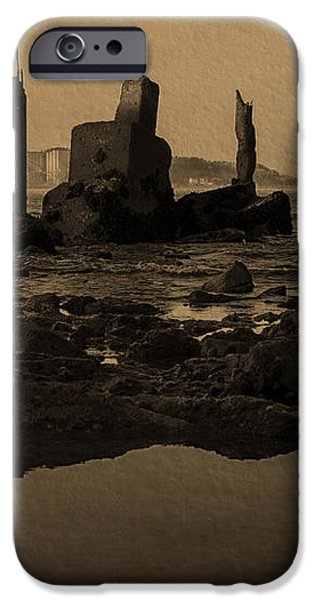 My Sea Of Ruins III iPhone Case by Marco Oliveira