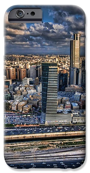 My Sim City iPhone Case by Ron Shoshani