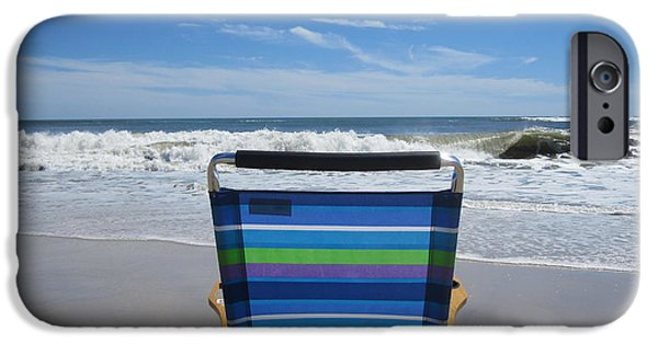 Beach Landscape iPhone Cases - My Solace iPhone Case by Deborah A Andreas