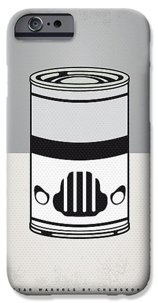 MY STAR WARHOLS STORMTROOPER MINIMAL CAN POSTER iPhone Case by Chungkong Art