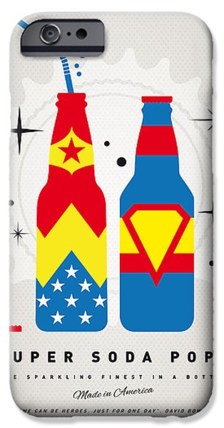 Concept Digital iPhone Cases - My SUPER SODA POPS No-06 iPhone Case by Chungkong Art