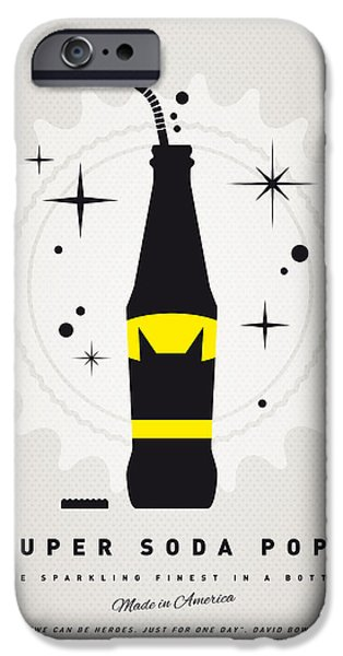 Concept Digital iPhone Cases - My SUPER SODA POPS No-07 iPhone Case by Chungkong Art