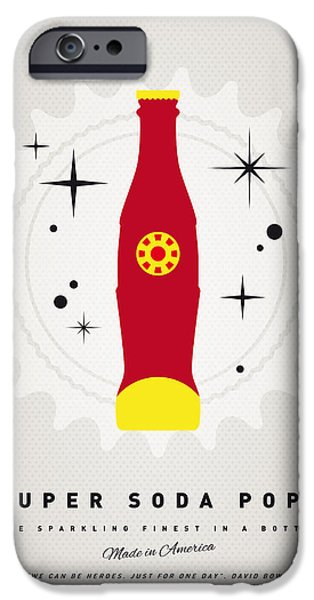Concept Digital iPhone Cases - My SUPER SODA POPS No-09 iPhone Case by Chungkong Art