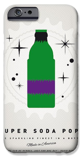 Hulk iPhone Cases - My SUPER SODA POPS No-11 iPhone Case by Chungkong Art