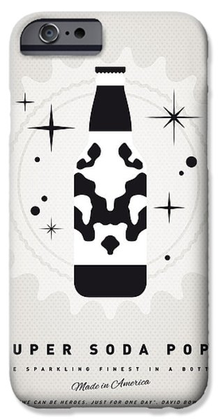 Concept Art iPhone Cases - My SUPER SODA POPS No-12 iPhone Case by Chungkong Art