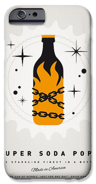 Concept Digital Art iPhone Cases - My SUPER SODA POPS No-16 iPhone Case by Chungkong Art