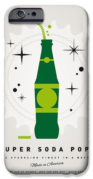 Arrow iPhone Cases - My SUPER SODA POPS No-20 iPhone Case by Chungkong Art