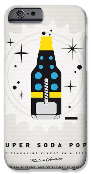 Power iPhone Cases - My SUPER SODA POPS No-22 iPhone Case by Chungkong Art