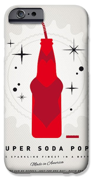 Power iPhone Cases - My SUPER SODA POPS No-23 iPhone Case by Chungkong Art