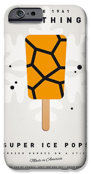 Superhero iPhone Cases - My SUPERHERO ICE POP - The Thing iPhone Case by Chungkong Art