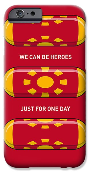 Concept iPhone Cases - My SUPERHERO PILLS - Iron Man iPhone Case by Chungkong Art