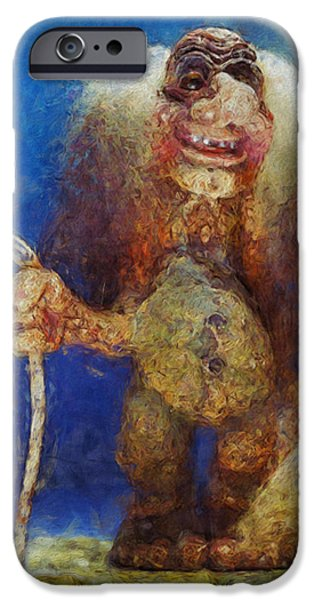 Abnormal iPhone Cases - My Troll iPhone Case by Jack Zulli