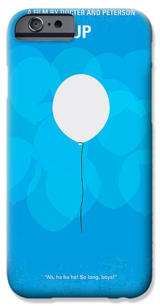 Action iPhone Cases - My UP minimal movie poster iPhone Case by Chungkong Art
