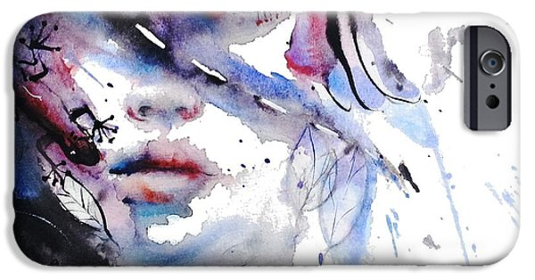 Destiny Paintings iPhone Cases - My Way My Destiny iPhone Case by Dreja Novak
