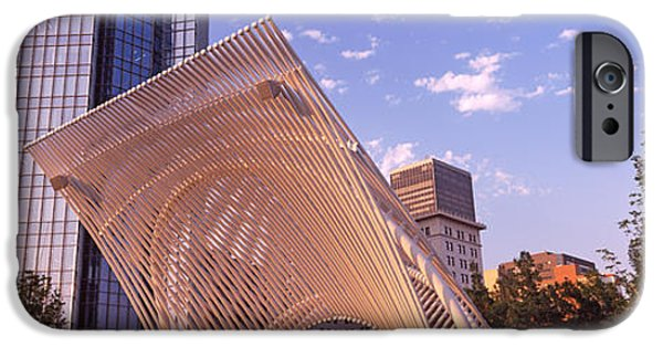 Botanical Photographs iPhone Cases - Myriad Botanical Gardens Bandshell iPhone Case by Panoramic Images