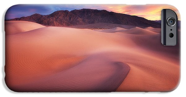 Sunset Prints iPhone Cases - Mysterious Mesquite iPhone Case by Darren  White