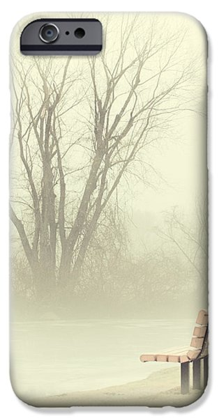 Mysterious Peace iPhone Case by Karol  Livote