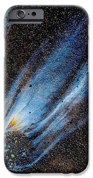 Mysterious Traveler iPhone Case by Samuel Sheats