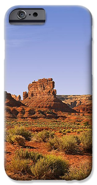 Mysterious Valley Of The Gods iPhone Case by Christine Till