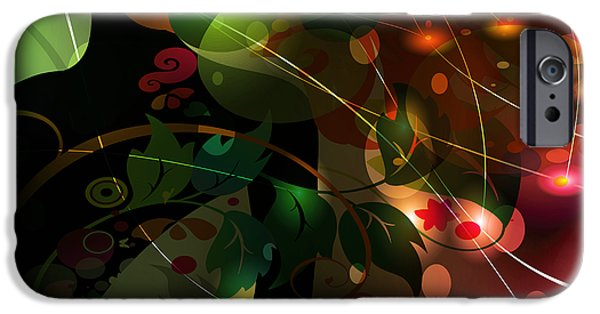 Amazing Digital Art iPhone Cases - Mystery iPhone Case by Angelina Vick