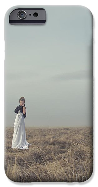 Thinking iPhone Cases - Mystic And Divine iPhone Case by Evelina Kremsdorf