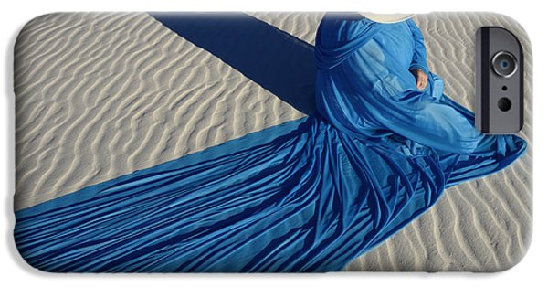 Model iPhone Cases - Mystic Blue 1 iPhone Case by Bob Christopher