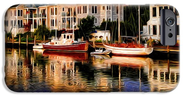 Mystic iPhone Cases - Mystic CT iPhone Case by Sabine Jacobs