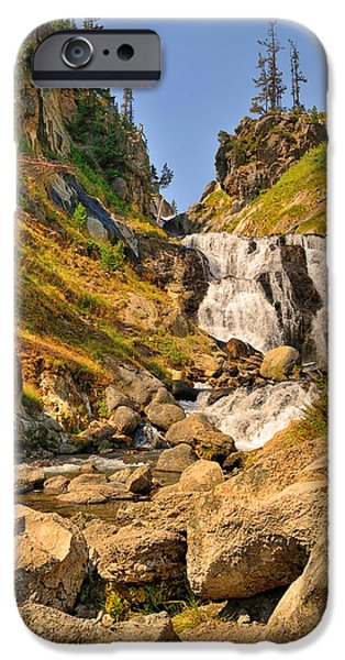 Fall iPhone Cases - Mystic Falls iPhone Case by Greg Norrell