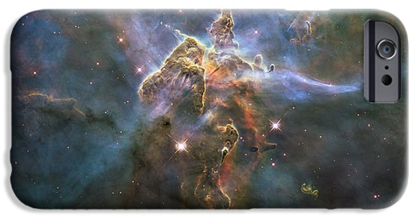 Stellar iPhone Cases - Mystic Mountain iPhone Case by Eric Glaser