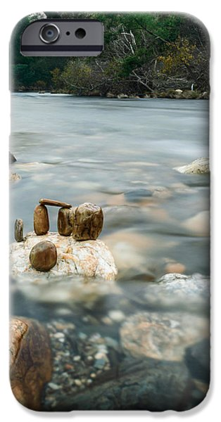 Mystic River II iPhone Case by Marco Oliveira
