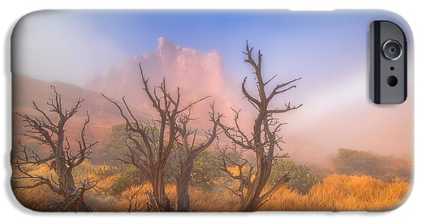 Lanscape iPhone Cases - Mystic Wonders iPhone Case by Darren  White