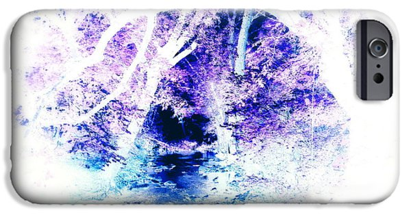 Over Hang iPhone Cases - Mystical Fantasy iPhone Case by Diane Leo