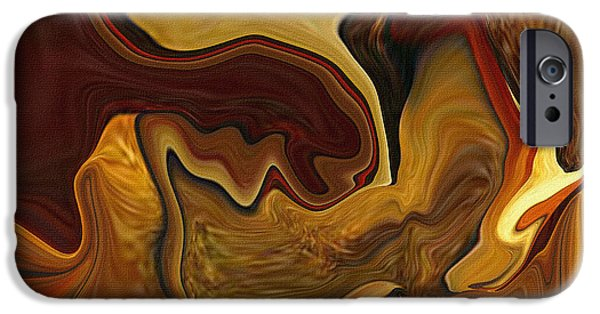 Abstract Digital Paintings iPhone Cases - Mystical Minstrel iPhone Case by Bamalam  Photography