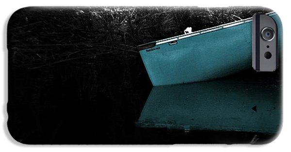 Canoe iPhone Cases - Mystique iPhone Case by Trish Mistric
