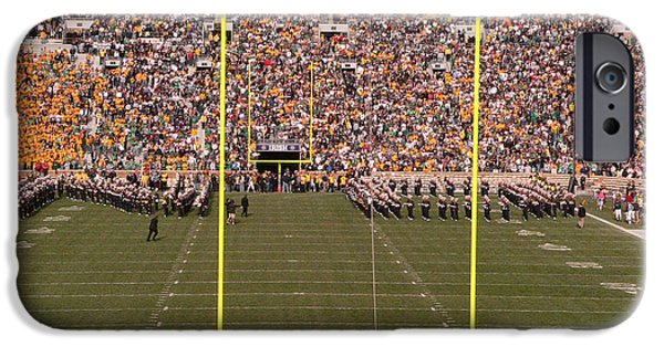 Marching Band Photographs iPhone Cases - N D iPhone Case by David Bearden