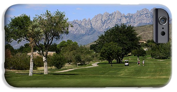 Professional Golf iPhone Cases - N M S U Golf iPhone Case by Jack Pumphrey
