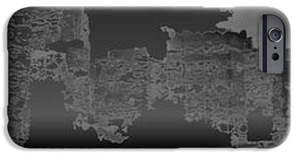 Celebrities Art iPhone Cases - N Y 2330 iPhone Case by Sir Josef  Putsche
