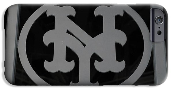 Shea Stadium iPhone Cases - N Y iPhone Case by Rob Hans