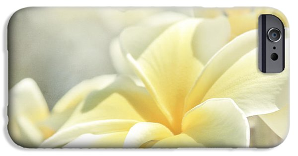 Tree Art Print iPhone Cases - Na Lei Pua Melia Aloha e ko Lele iPhone Case by Sharon Mau