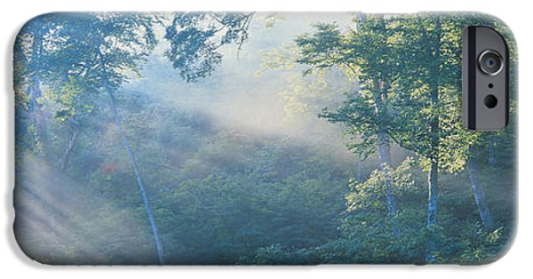 Radiating Light iPhone Cases - Nagano Japan iPhone Case by Panoramic Images