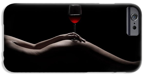 Wine Legs iPhone Cases - Naked Wine iPhone Case by Jt PhotoDesign