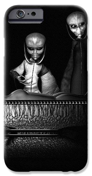 Nameless Faces iPhone Case by Bob Orsillo