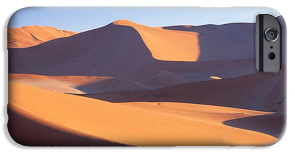 Harsh iPhone Cases - Namib Desert, Nambia, Africa iPhone Case by Panoramic Images